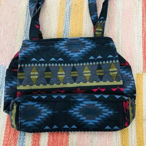 Vintage Aztec Boho Crossbody Western Purse Bag